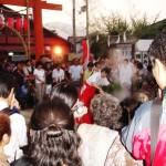 7月28日・29日に行われる「みたらし祭」の風景
